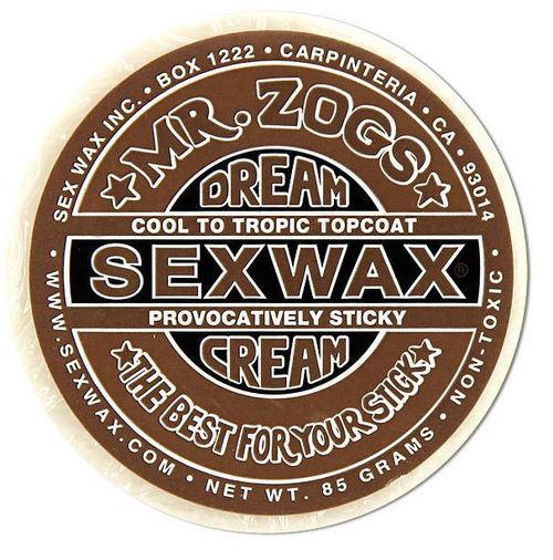 Mr Zogs Sex Wax Dreamcream Topcoat Bronze