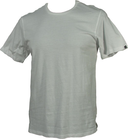 Billabong Delux Mens Plain Tee White
