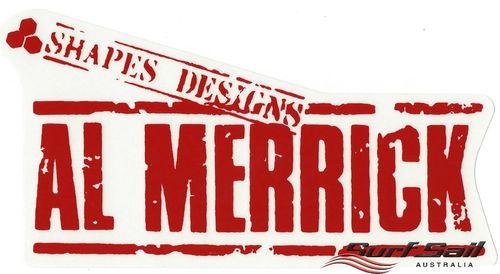 Channel Islands Merrick Stamp Sticker Red