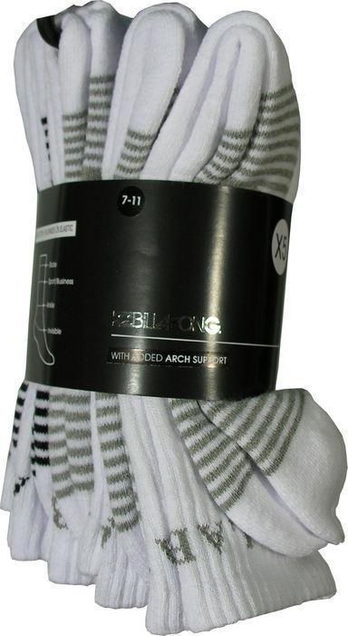 Billabong Mens Sport Sock 5 Pack