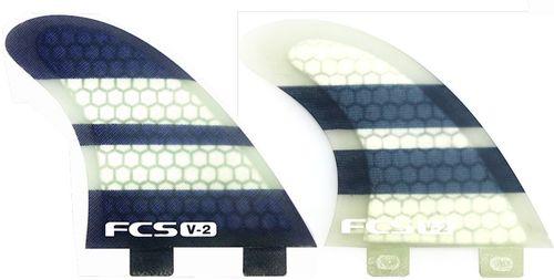 FCS V-2 PC Tri Fin Set