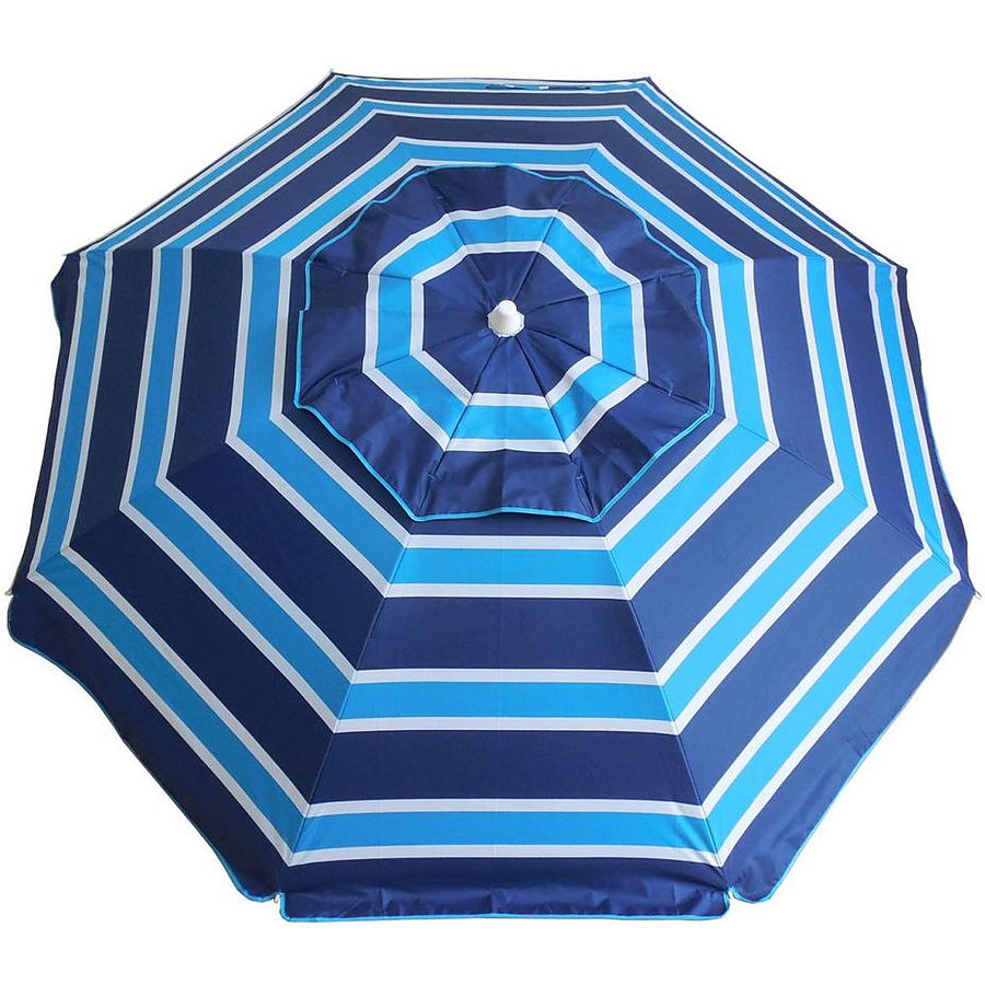 Surf Sail Australia Day Tripper Beach Umbrella Navy Aqua