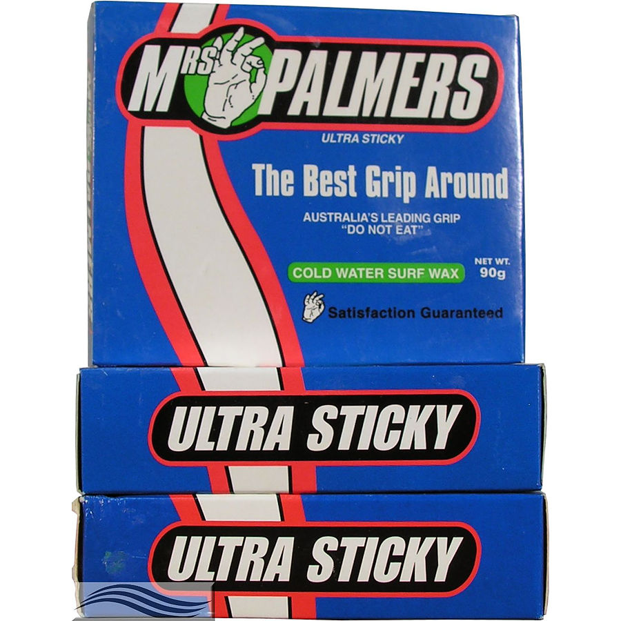 Mrs Palmers Cold Surf Wax 3 pack