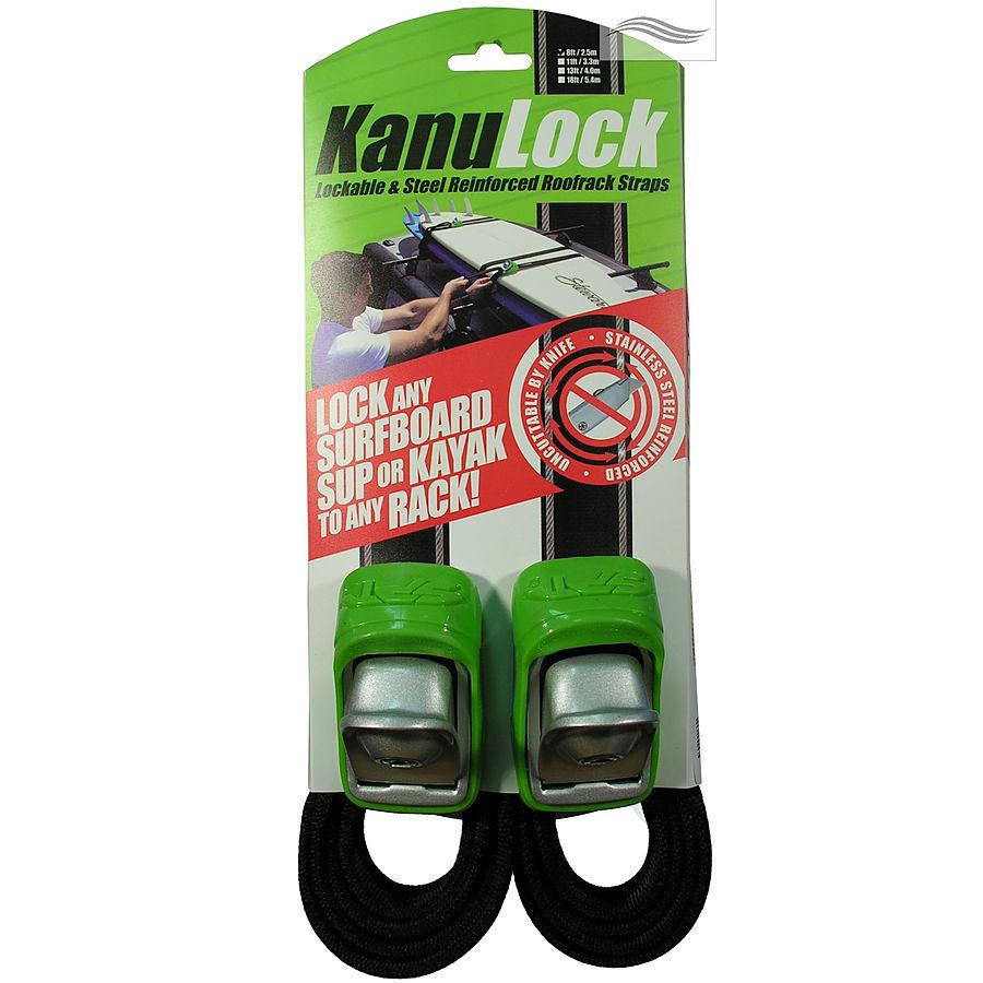 KanuLock Lockable Tie Downs 2.5m