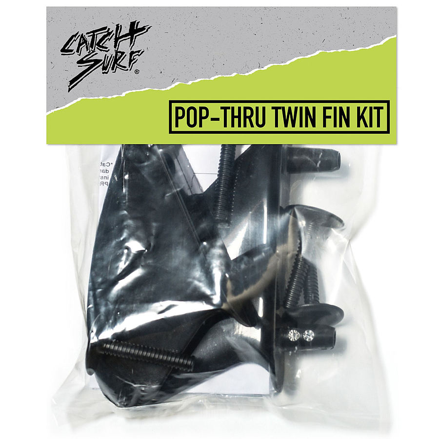 Catch Surf Beater Pop ThruTwin Fin Kit - Image 1