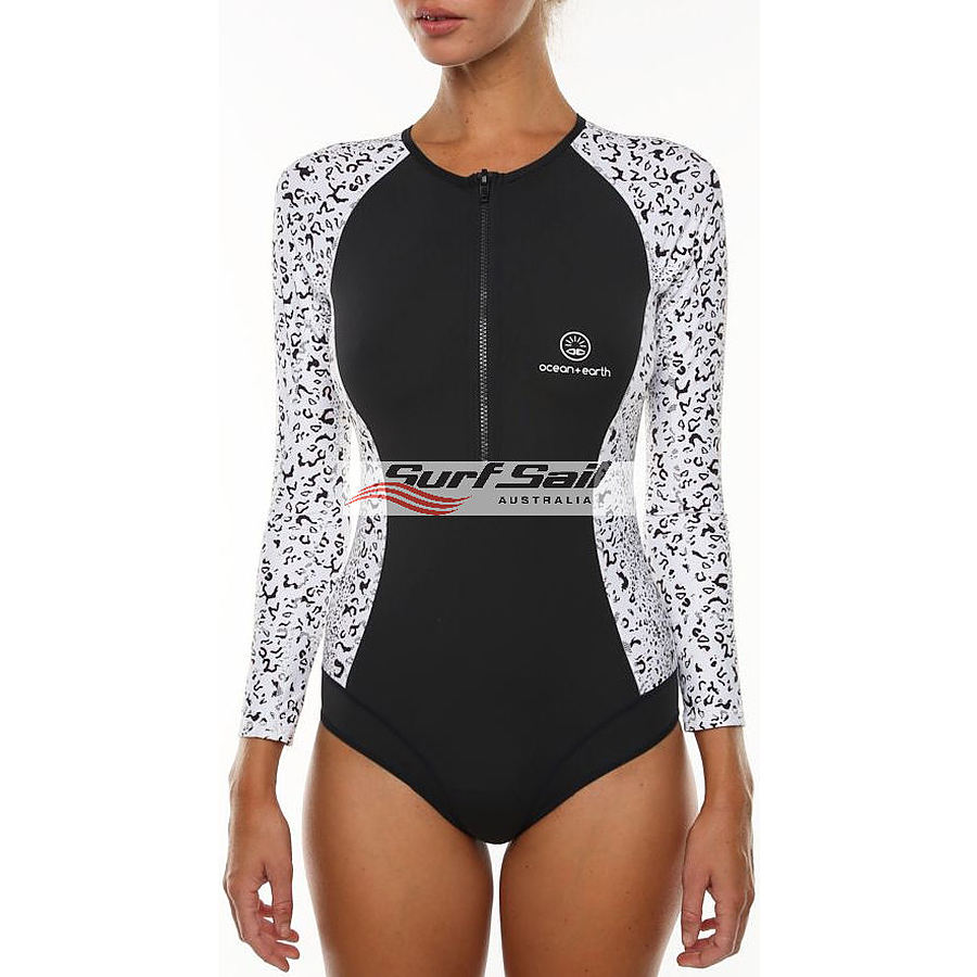 Ocean and Earth Ladies Sisco LS Surfsuit Graphite