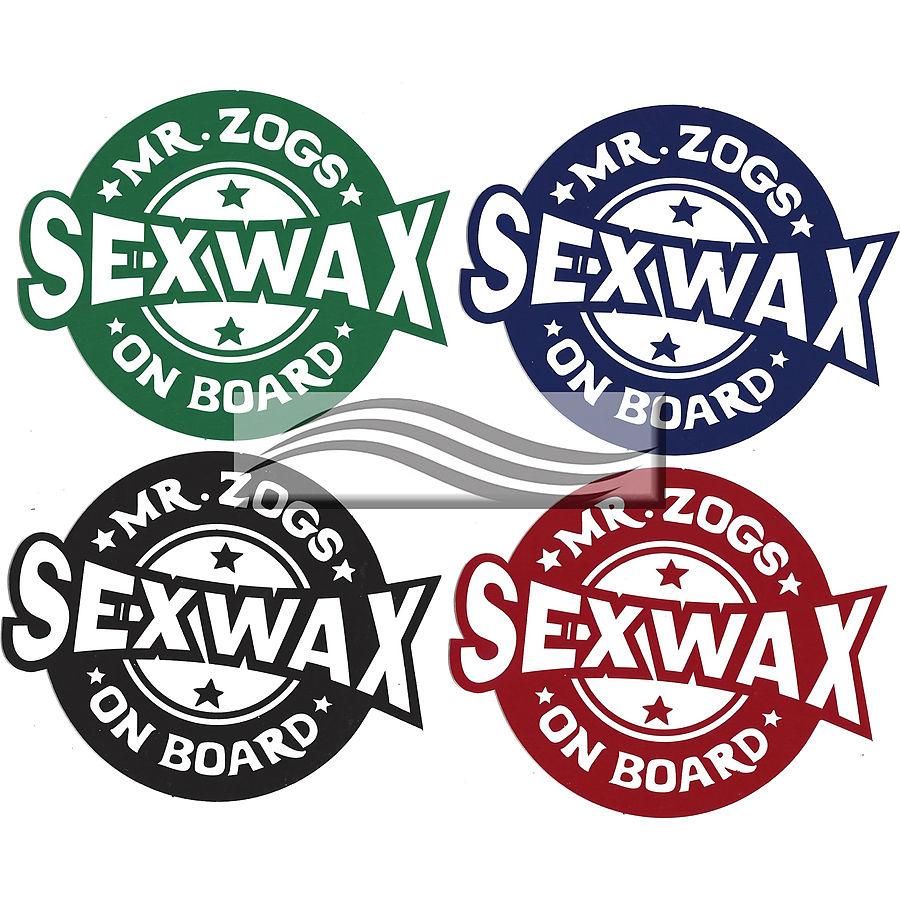 Mr Zogs Sex Wax On Board Sticker