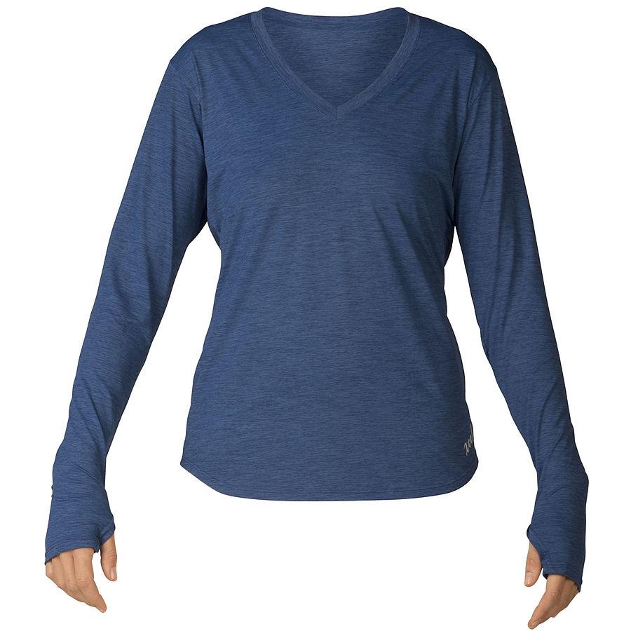 Xcel Ladies Lynn Ventx UV LS Shirt Classic Blue
