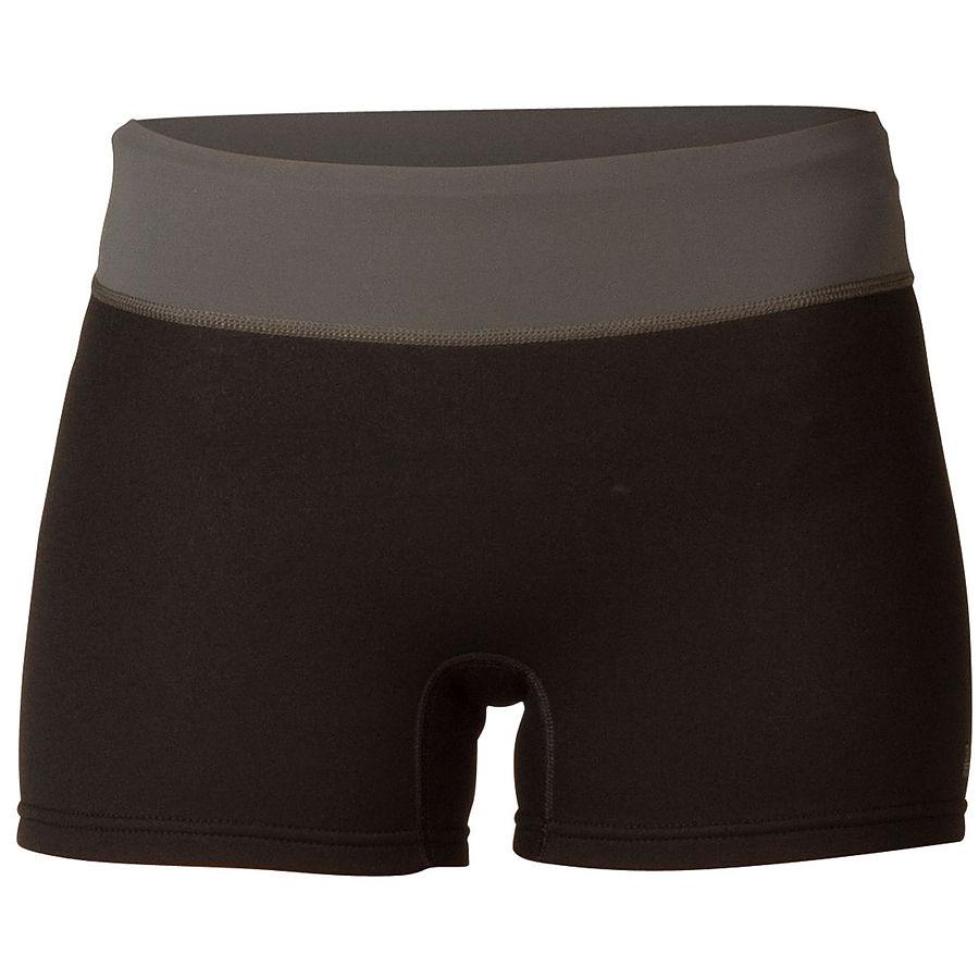 Xcel Womens Paddle Shorts Black Gunmetal - Image 1