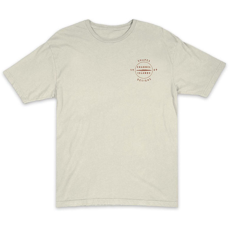 Channel Islands Mens Circle Islands SS Tee