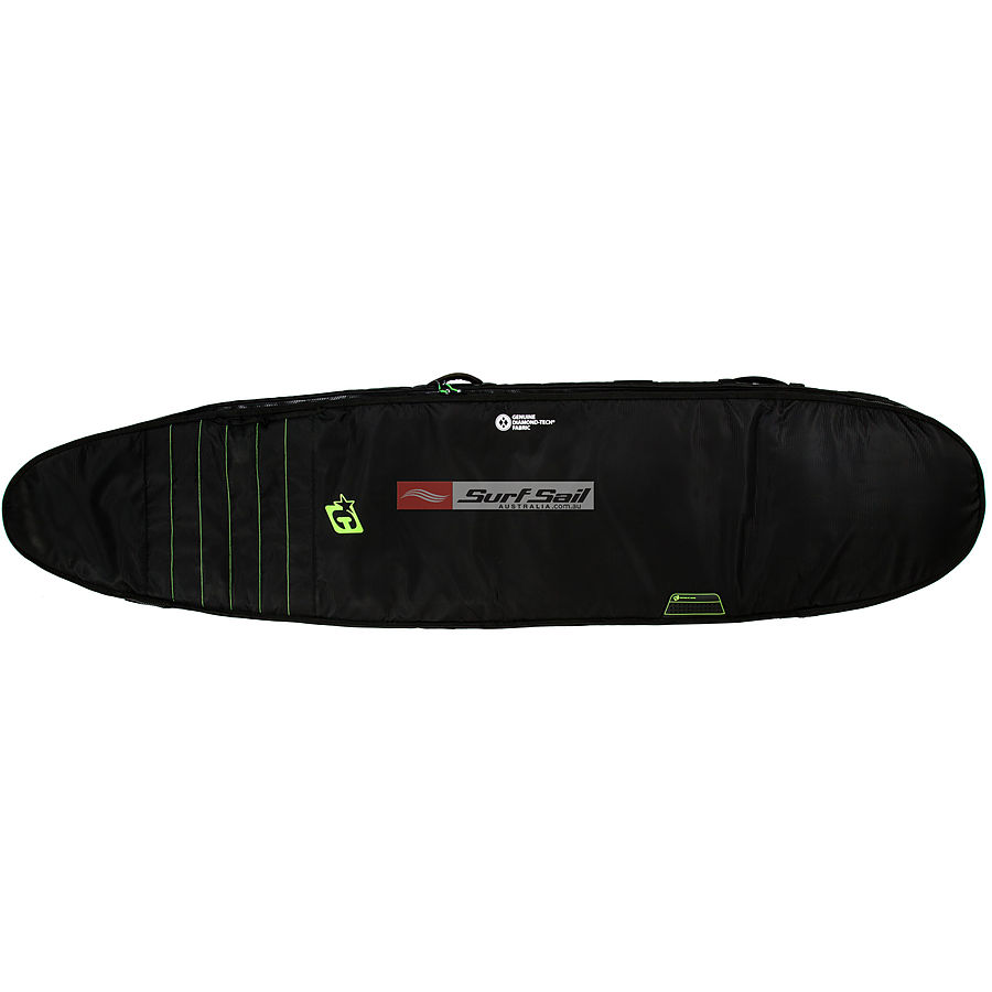 Creatures of Leisure Longboard Double Black Lime