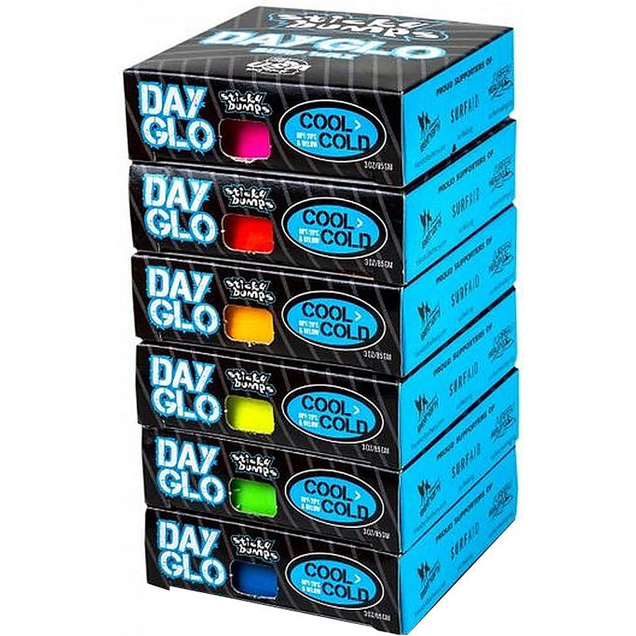 Sticky Bumps Day Glo Coloured Cool Wax Pack 85 grams