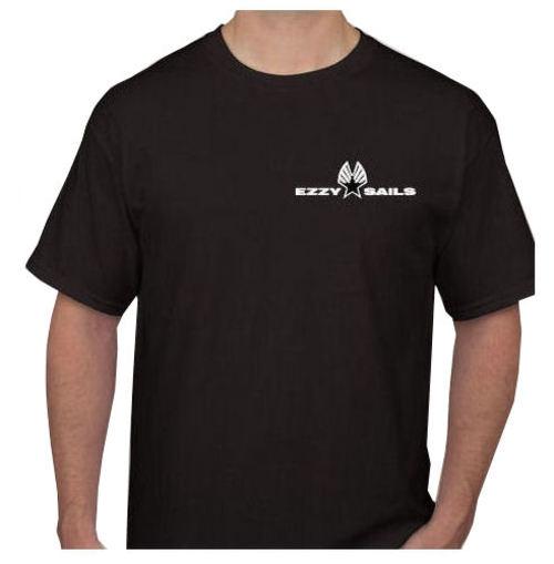 Ezzy Logo Mens Black Tee