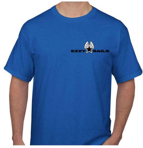 Ezzy Logo Mens Royal Blue Tee