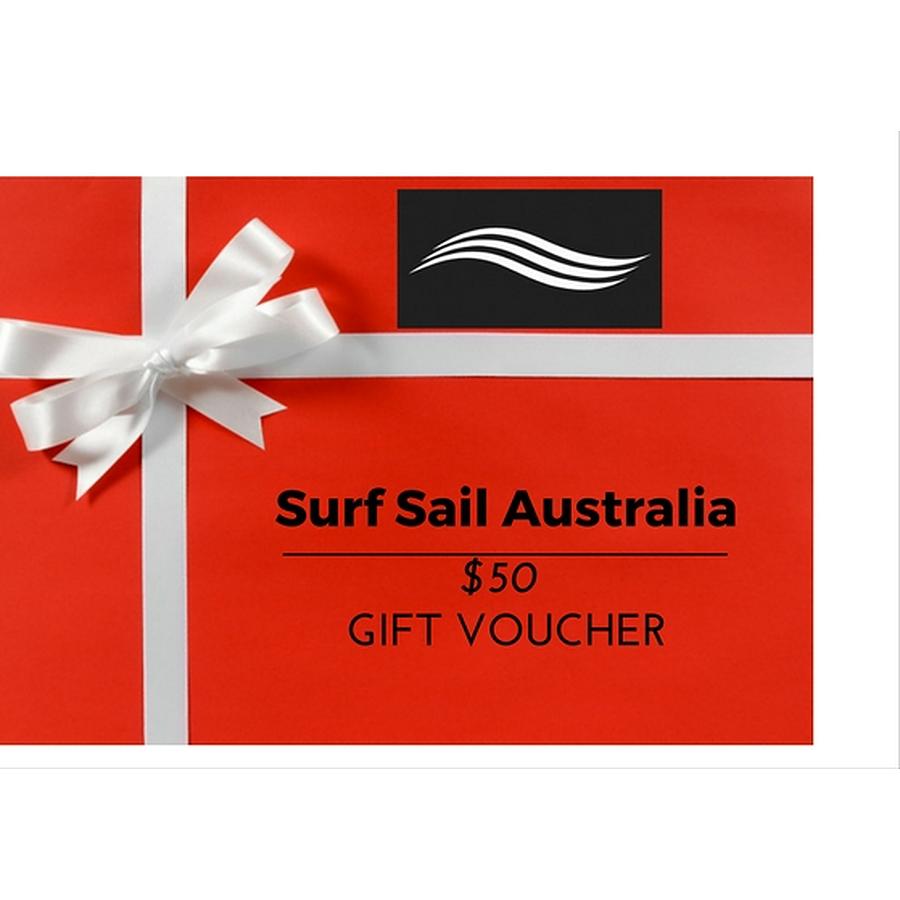 Surf Sail Australia Gift Voucher AUD$50
