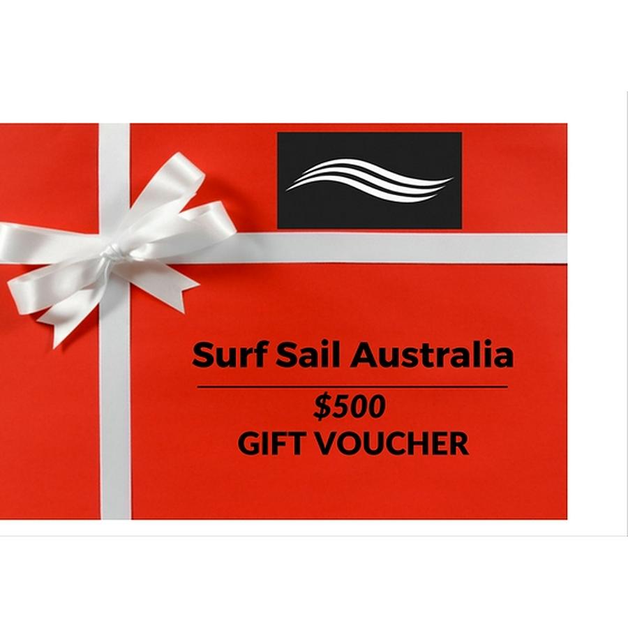 Surf Sail Australia Gift Voucher AUD$500
