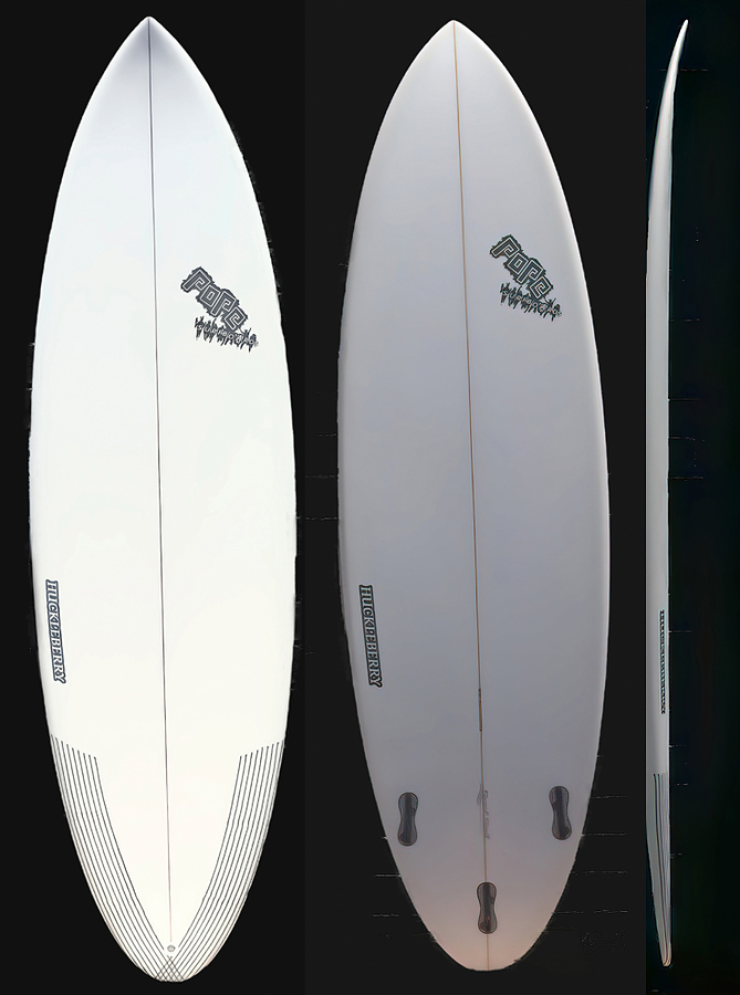 Nick Pope Tri Fin FCS2 Huckleberry Package Deal