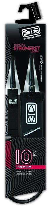 Ocean And Earth Premium One Piece Leash 10'0
