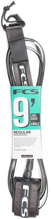FCS Regular Longboard Ankle  Leash 9 Foot x 7.0 mm