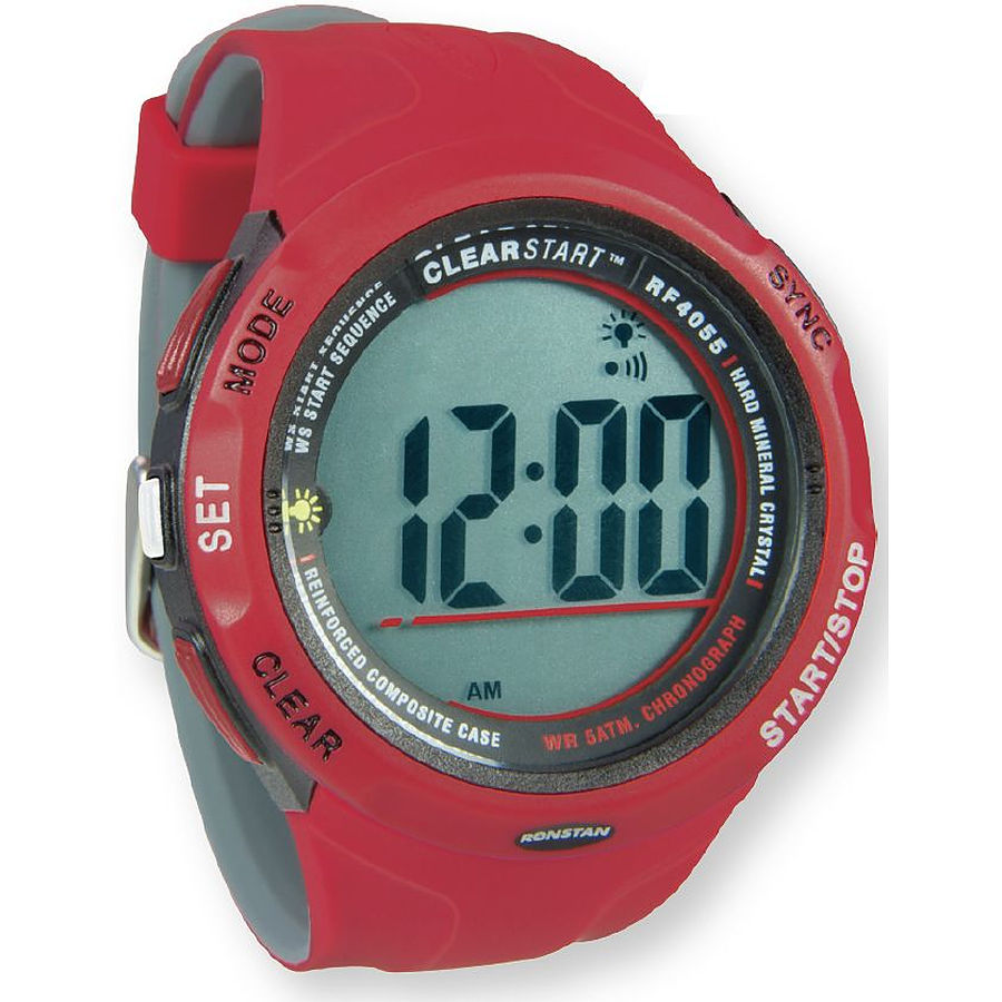 Ronstan Clear Start Sailing Watch Red Grey