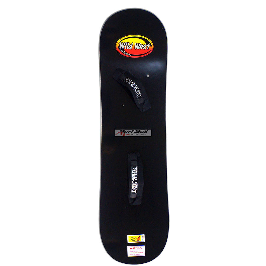 Wild West Sandboard Black Medium