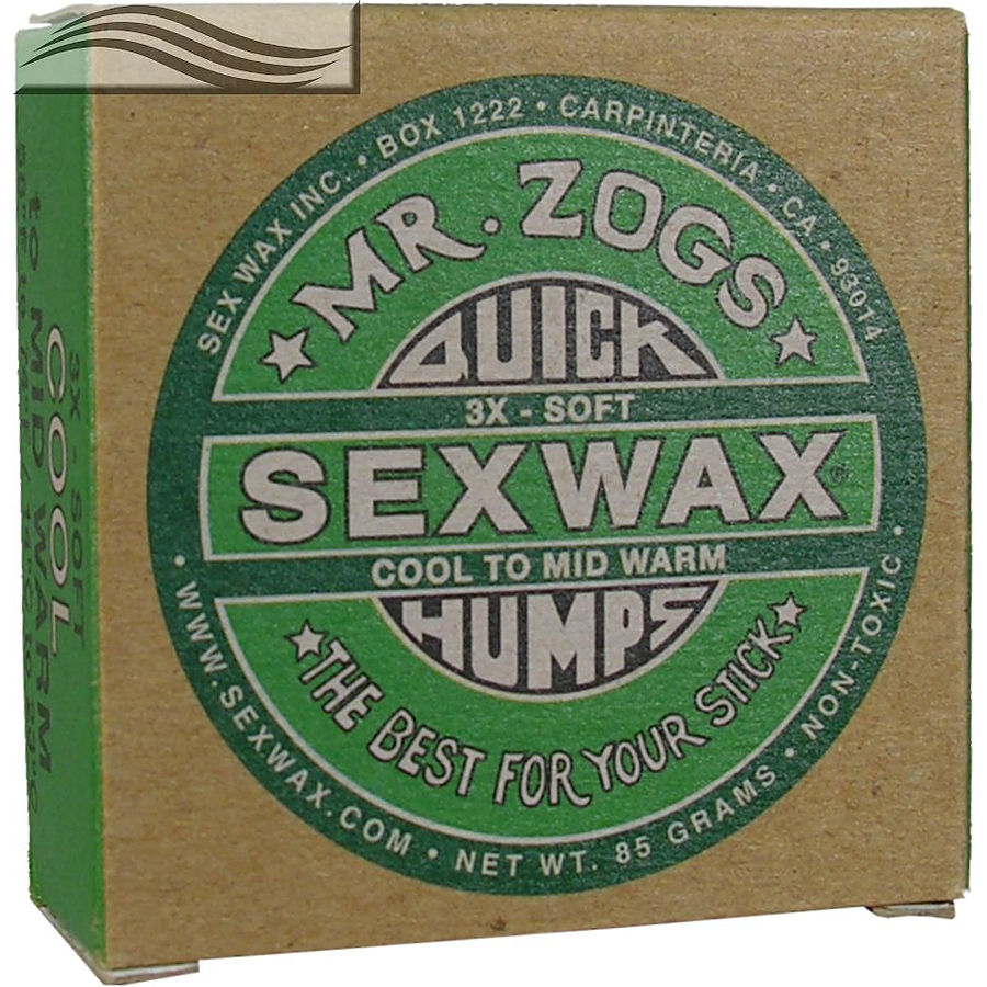 Mr Zogs Sex Wax Original Cold Green