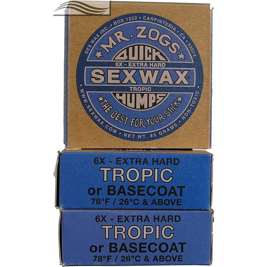 Mr Zogs Sex Wax Original Tropical Blue 3 pack