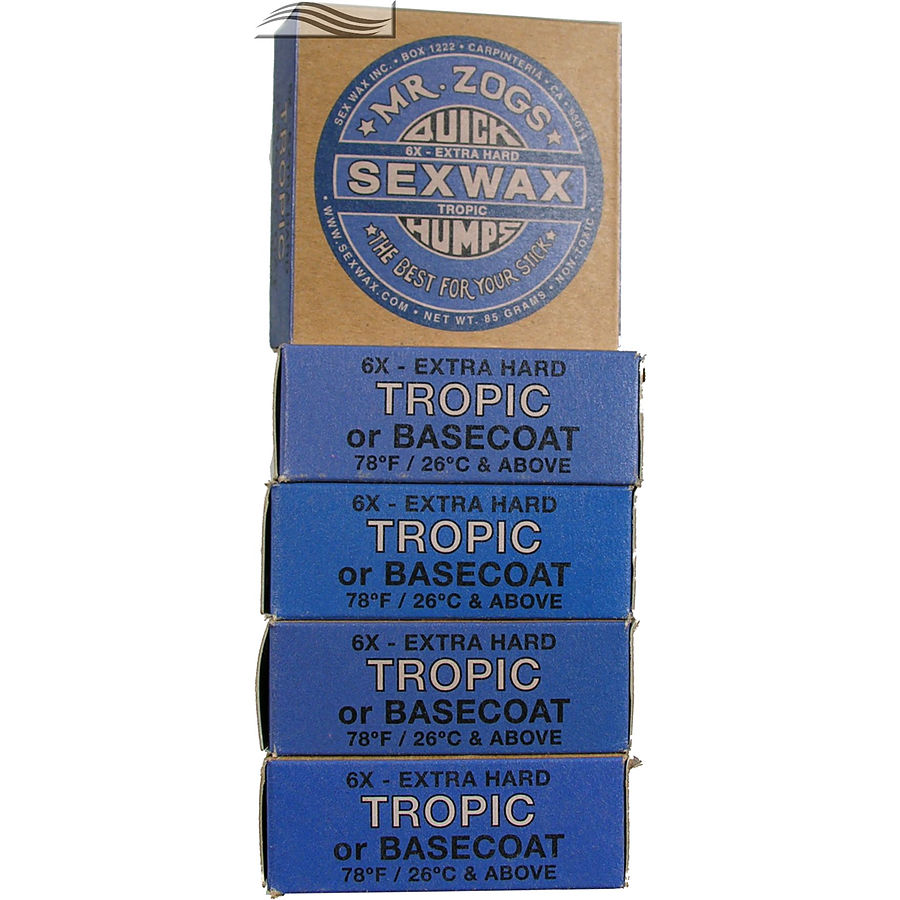Mr Zogs Sex Wax Original Tropical Blue 5 pack