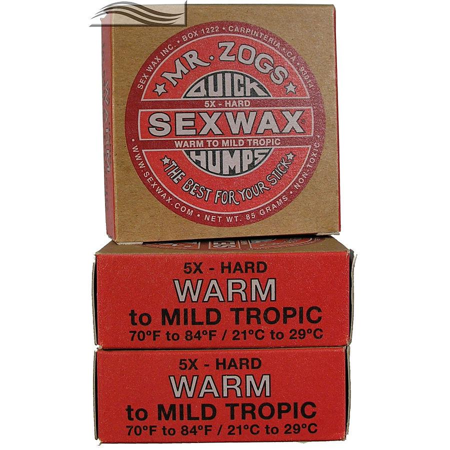 Mr Zogs Sex Wax Original Warm  Red 3 pack
