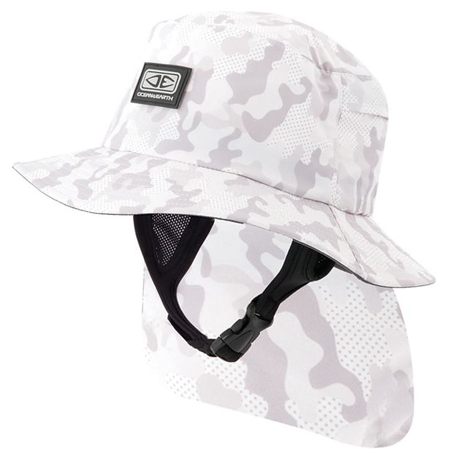 Ocean And Earth Indo Mens Surf Hat Camo