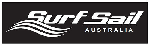 Surf Sail Australia Logo Sticker