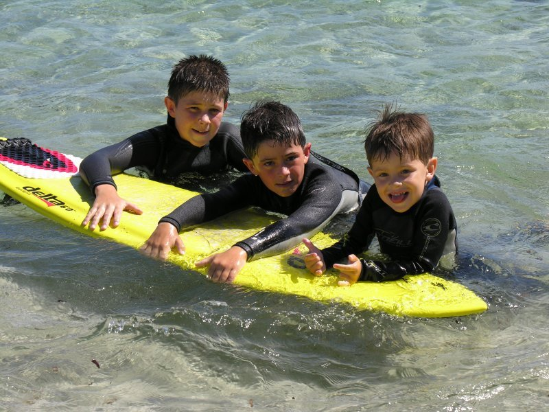 Photograph of Surfing Juniors Cove