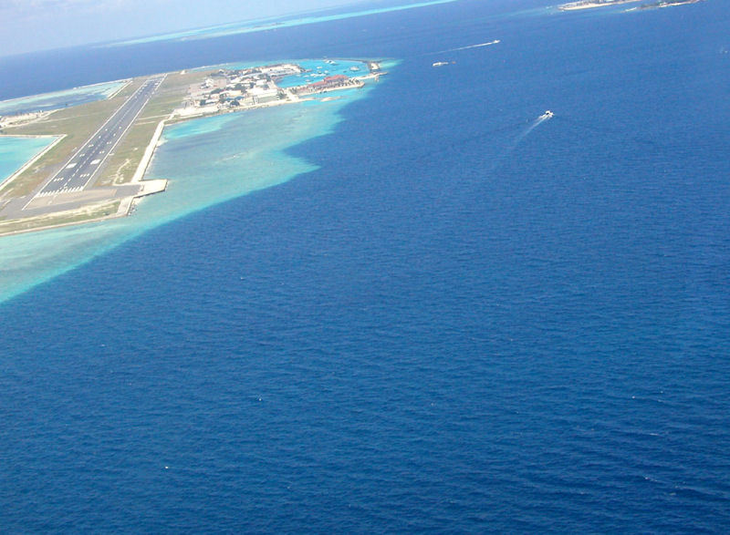 Photograph of Male, Maldives, fasten your seatbelts.