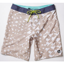The Product Reef Norte Surfaris Mens Boardshorts Khaki