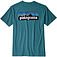 more on Patagonia Men's P-6 Logo Responsibili T-Shirt Tasmanian Teal