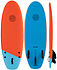 more on Gnaraloo Dune Buggy Orange Blue Soft Surfboard 4 ft 10 inches