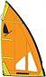 more on Windsurfer LT Regatta 5.7 Sail Orange
