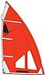more on Windsurfer LT Regatta 5.7 Sail Red