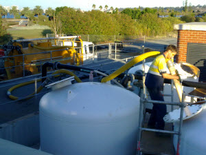 Removal Of sand from bore water filters