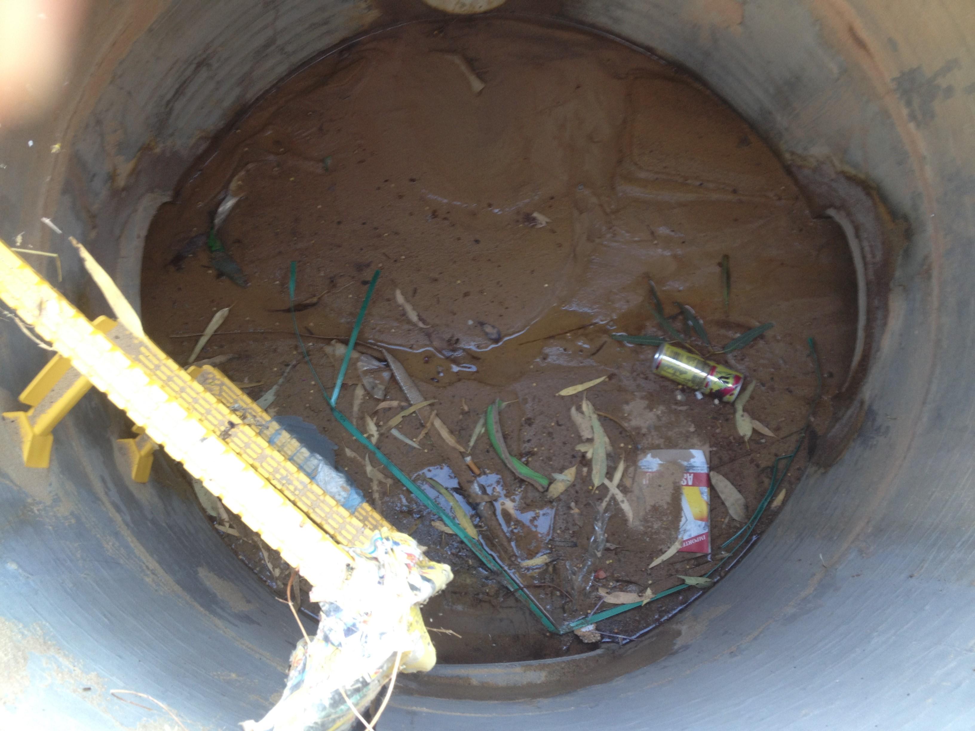TerraVac Pit Cleanout