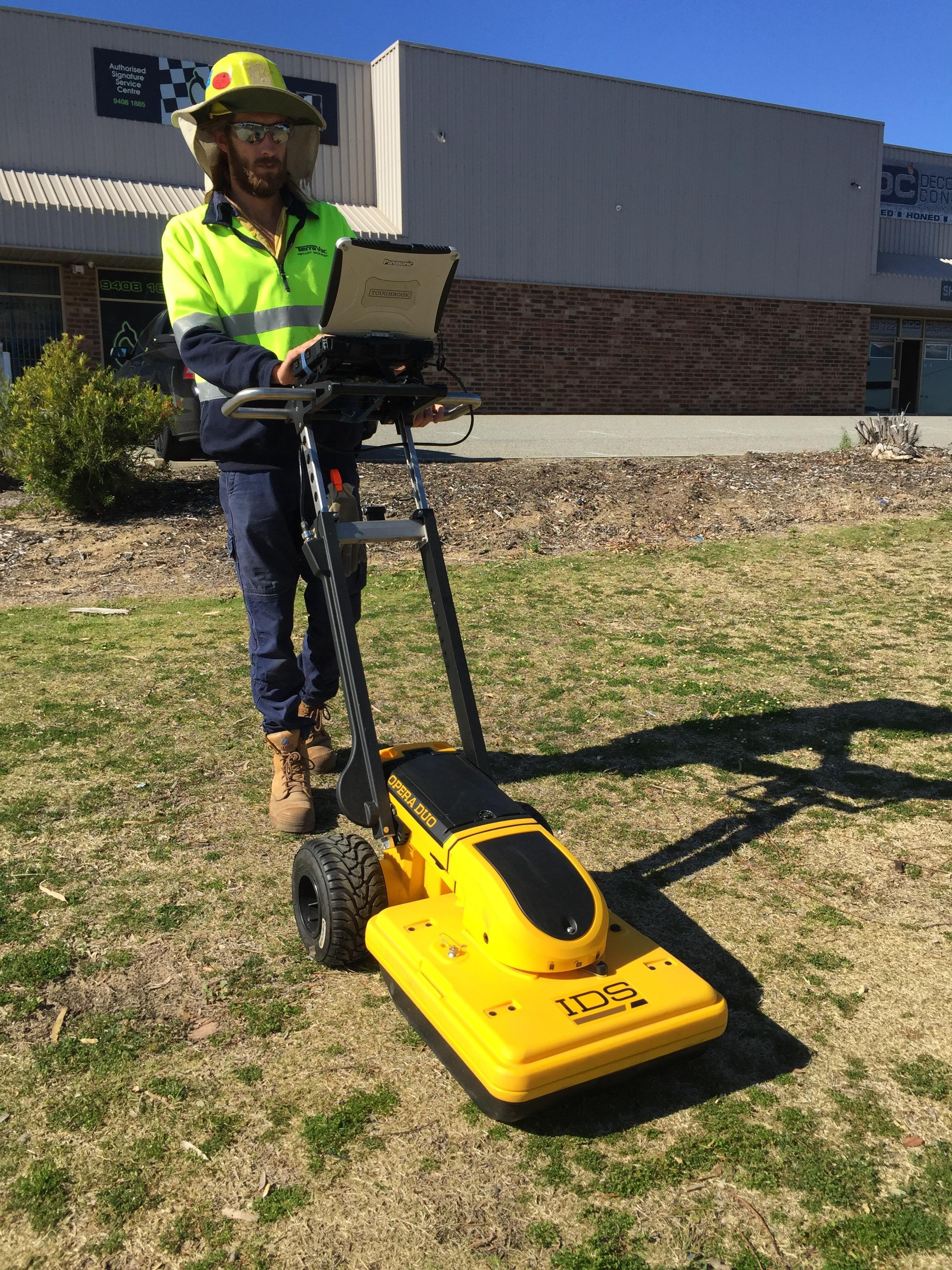 TerraVac GPR Undergound Utility Location - Ground Penetrating Radar