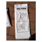 Nilfisk GU350 & GU450 Dust Bags Pack of 5 Plus Microstatic Filter