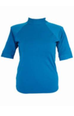 Short Sleeve Rash  - Blue  S - XL