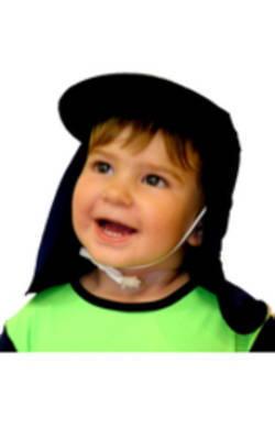 Boys Pool hat - Black