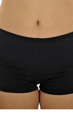 Chlorine Resistant Boyleg pants - Black