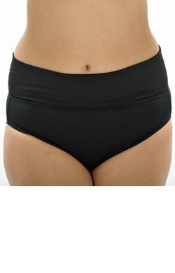 Roll Top Pants - Black Chlorine Resistant