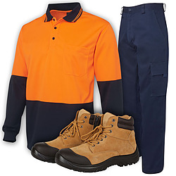 Clothing and Boots Category Image