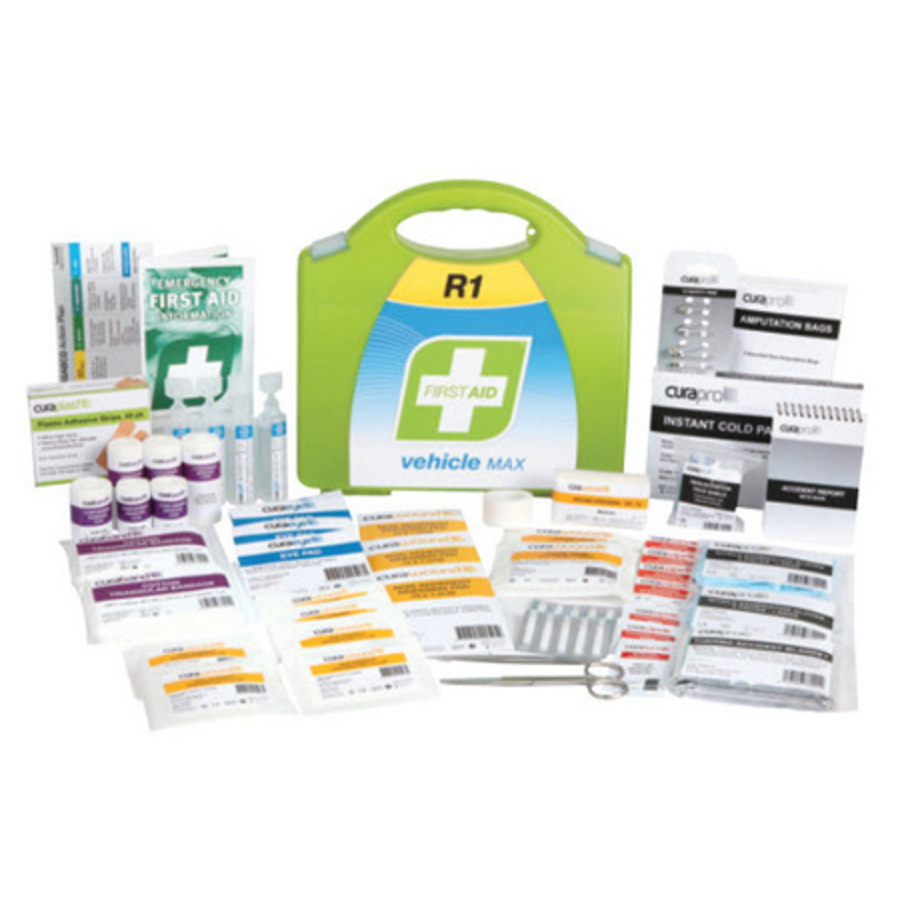 First Aid Kits For Vehicles : Vehicle max first aid kit hardcase