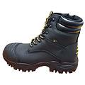 Craze Unisex Side Zip Boots (Black)