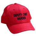 Warden Caps - Various